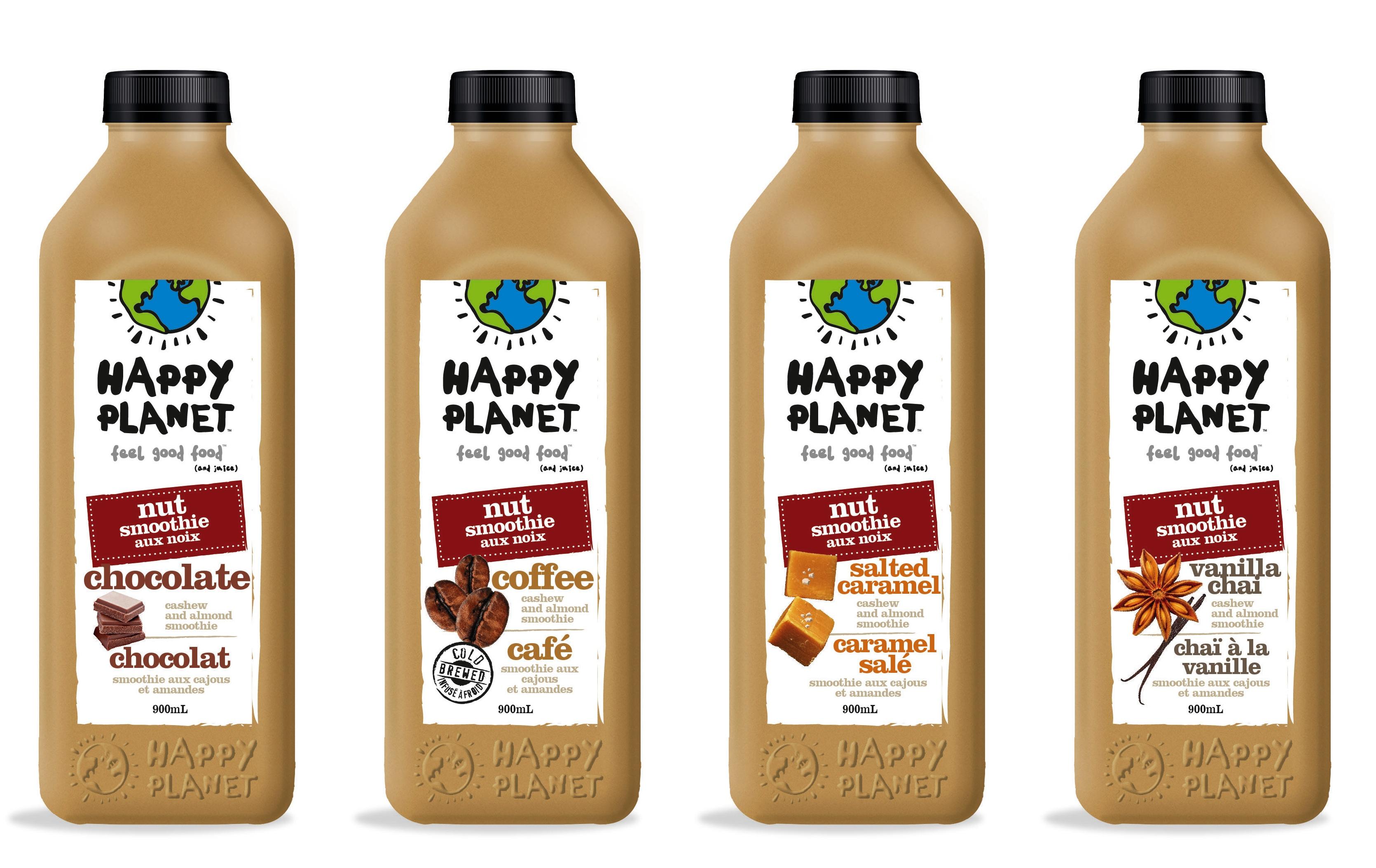 Happy Planet Nut Milk Smoothies