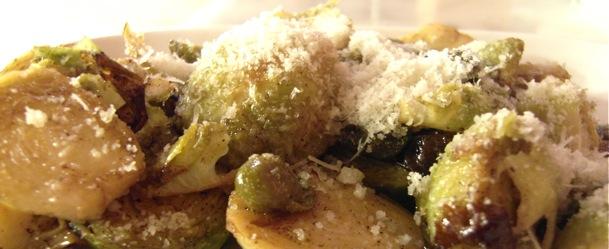 perbacco ristorante brown sugar brussel sprouts erin ireland