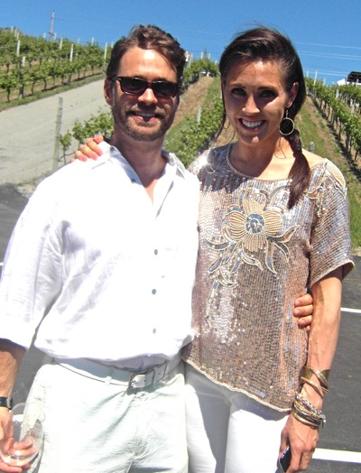 osoyoos celebrity wine festival jason priestley erin ireland interview ...