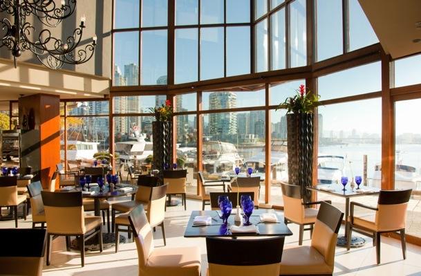 Dockside Restaurant Vancouver Menu