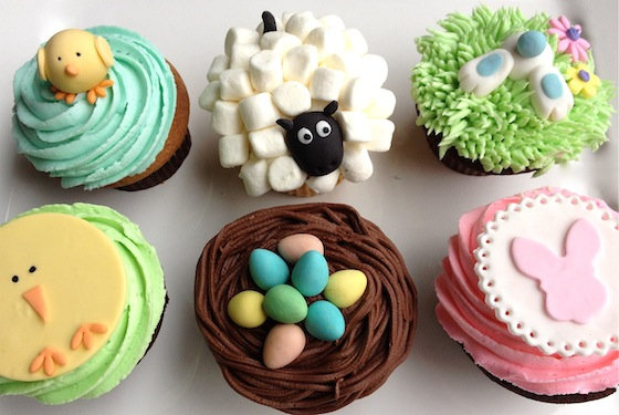 Easter treats in vancouver to die for easter cupcakes by cupcakes negle Image collections