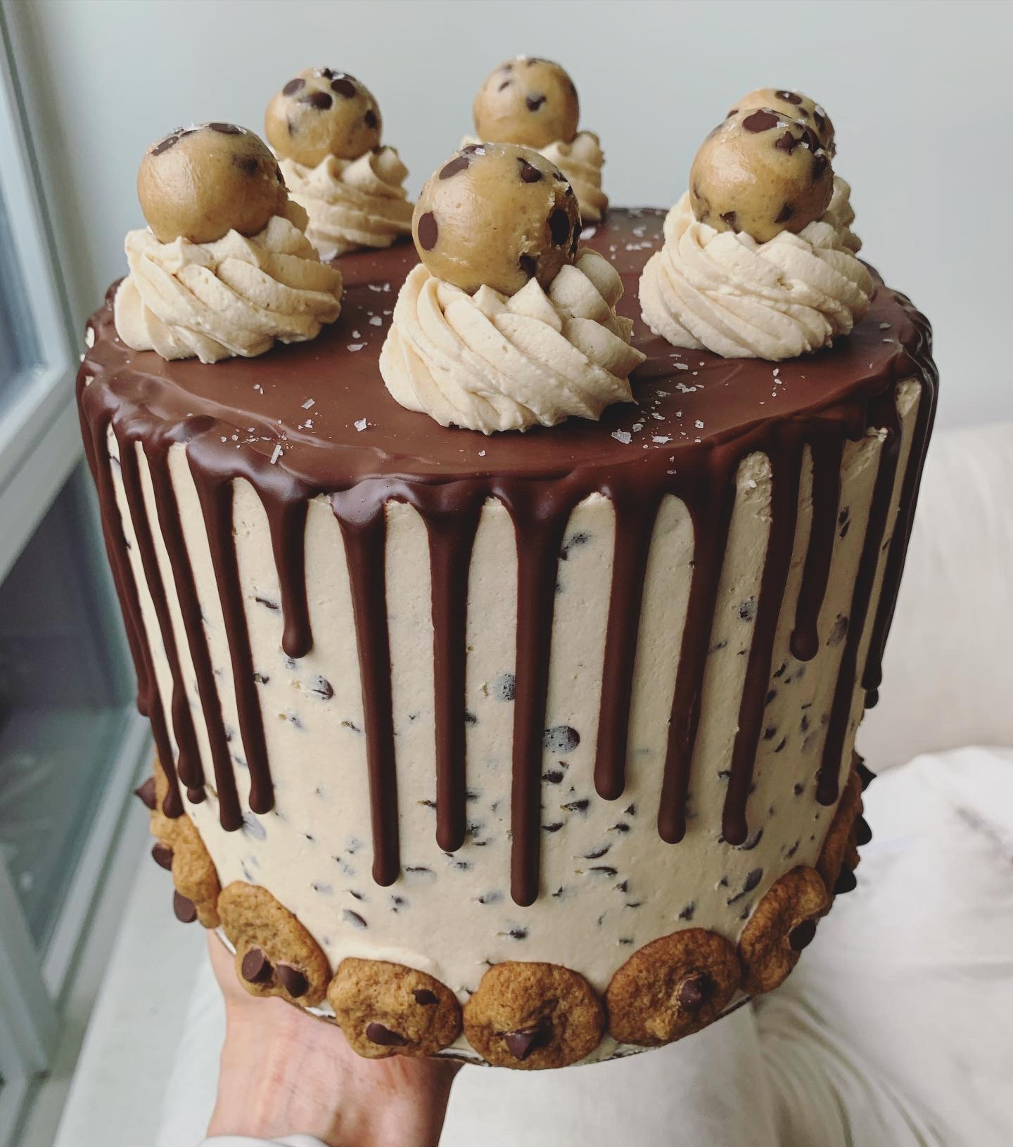 chocolate chip cookie dough cake erin ireland