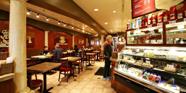 Caffe Artigiano Kerrisdale location
