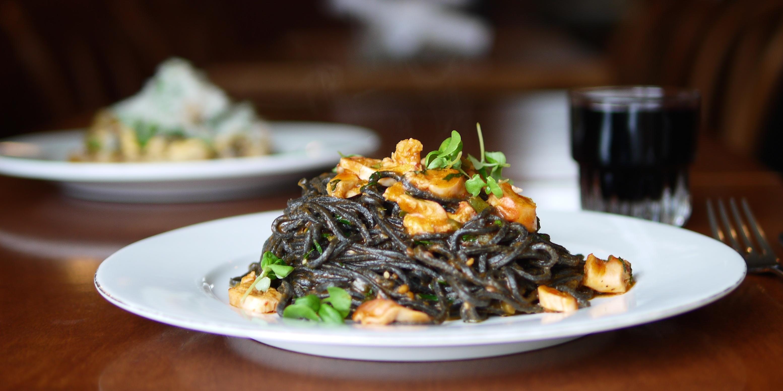 recipe  ask for luigi u2019s spaghetti nero with octopus