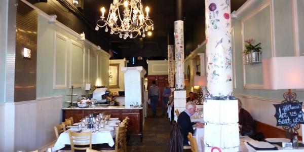 Blue Eyed Marys West Van Dining Room
