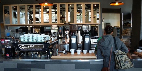 Coffeebar West Van Interior