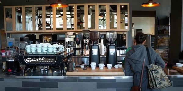 Coffeebar West Van Interior