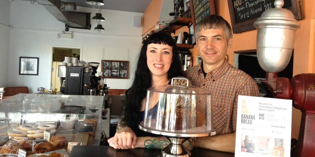 East Cafe Owner Dalyn and Zoltan