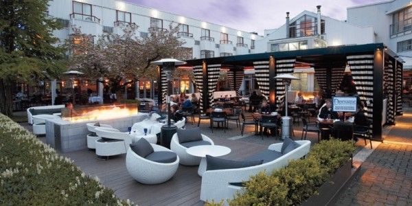 Image result for dinner on a patio in vancouver