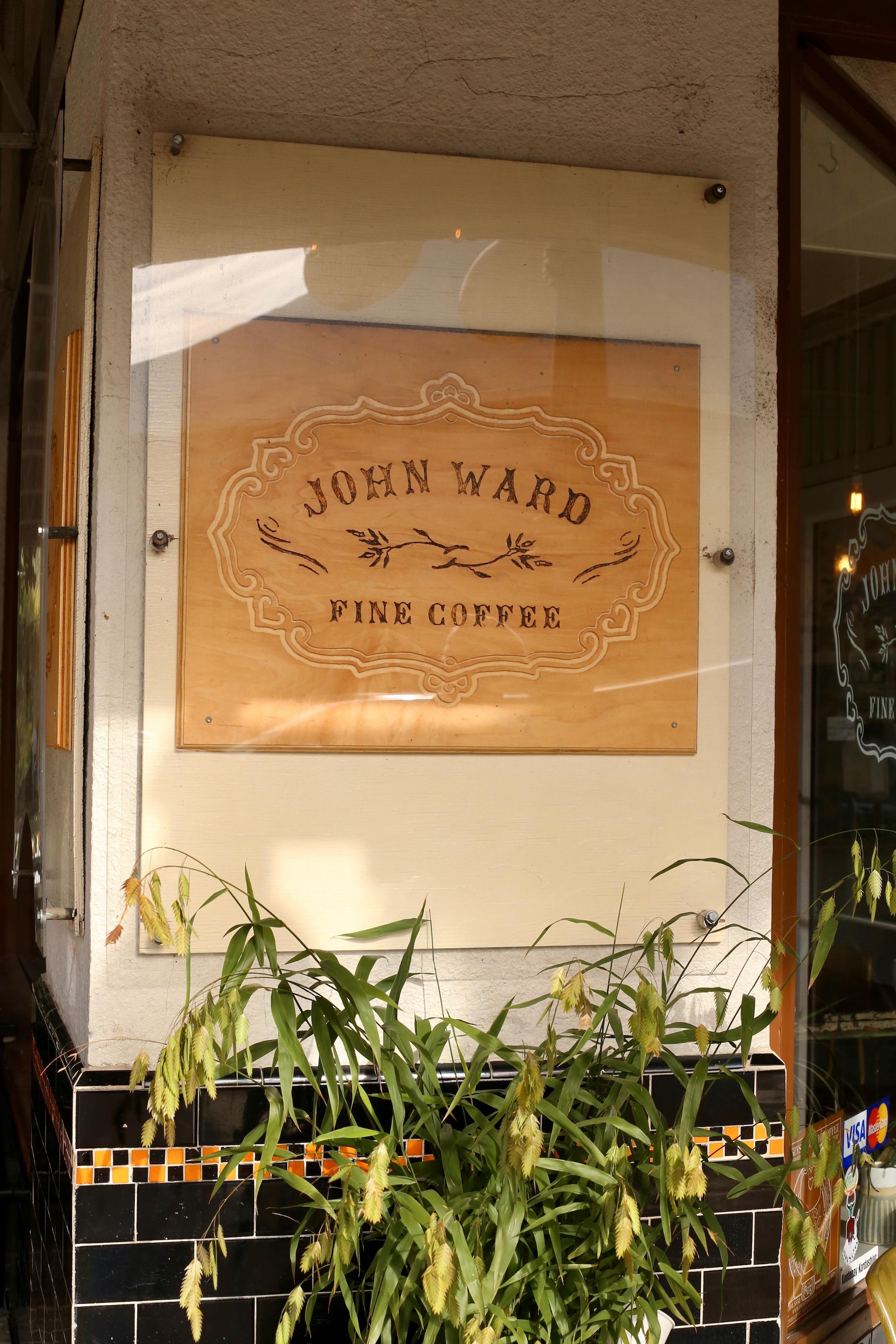 john ward fine coffee nelson