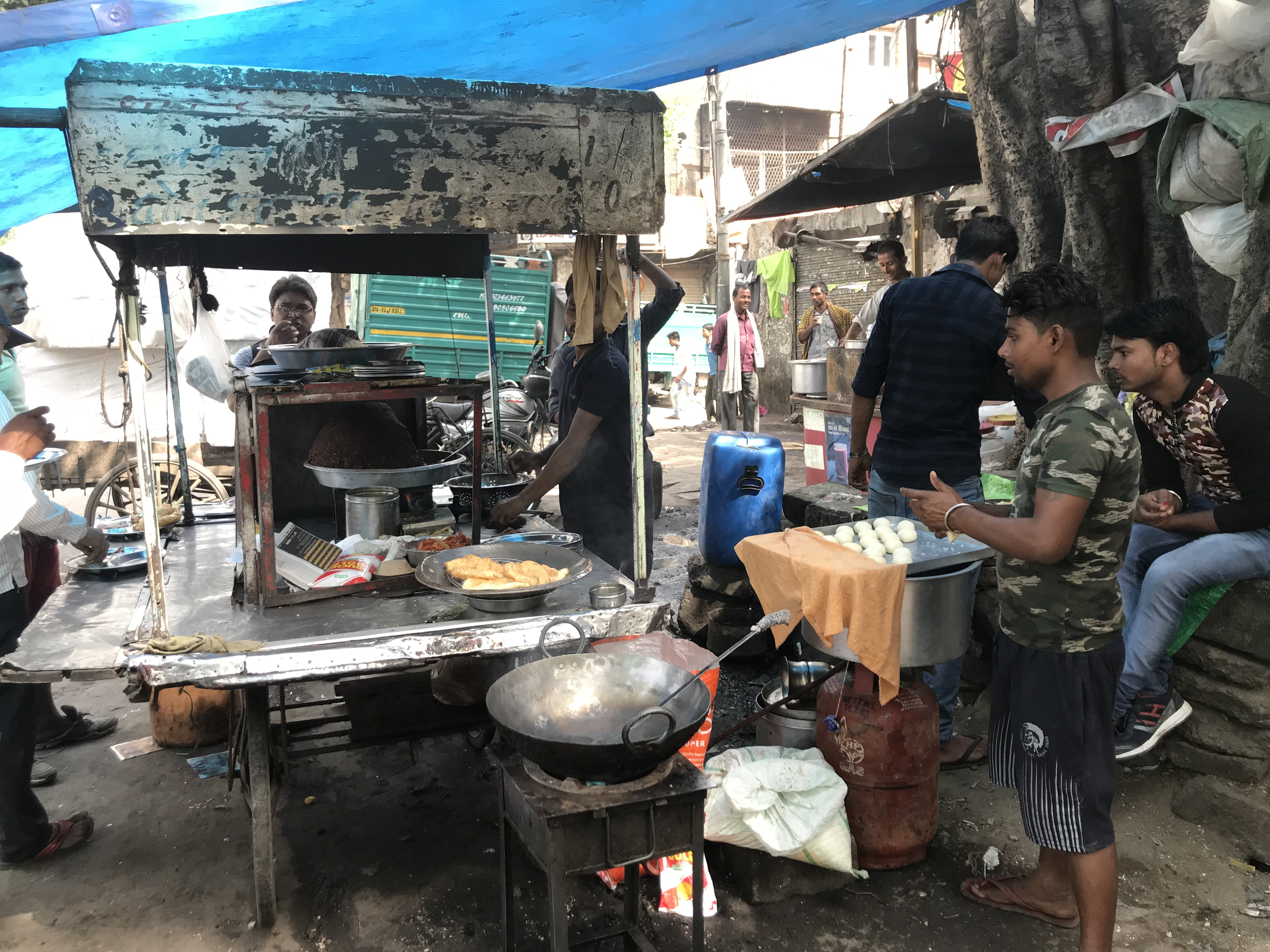 Delhi India Street Food