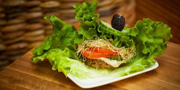 Tao Organics Vegan Burger