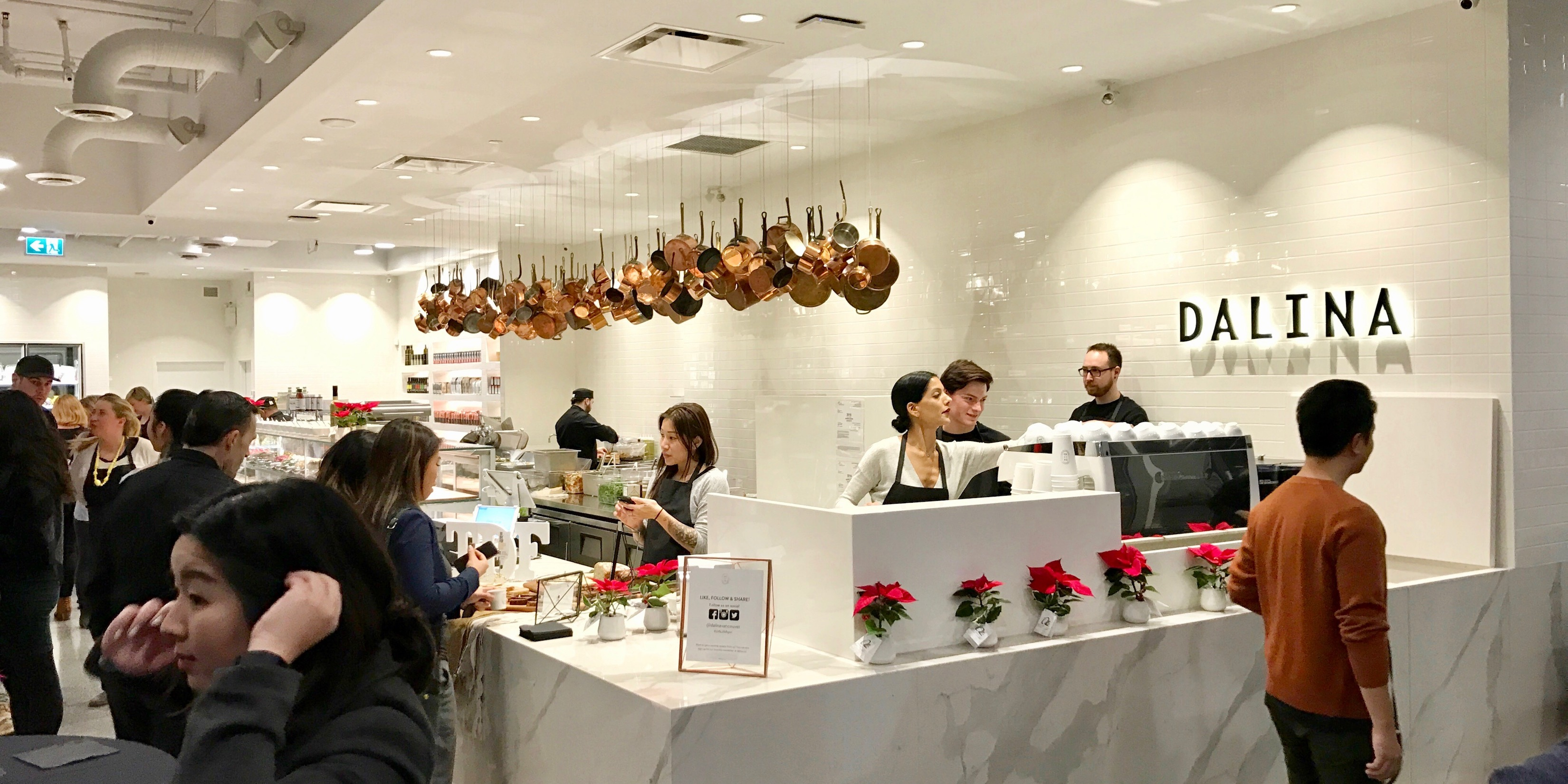 Dalina grocery store and cafe is now open in chinatown for What grocery stores are open today