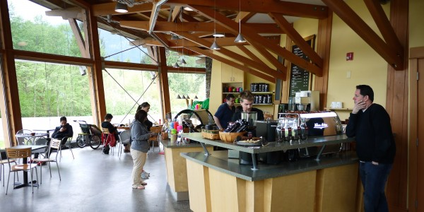 Caffe Garibaldi Squamish Adventure Center