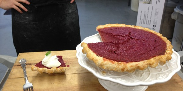 The Vancouver Pie Hole Beet Pie