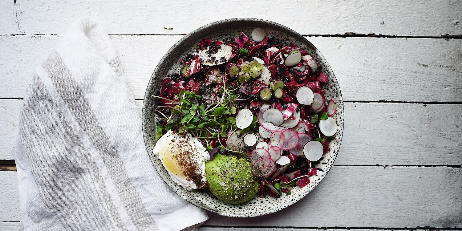 Black Rice Radicchio Salad, food trends for 2016