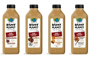 Happy Planet Nut Milk Smoothies