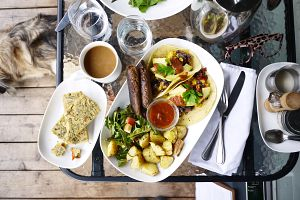 Graze Vegetarian Brunch
