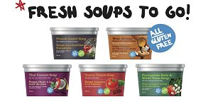 Happy Planet Fresh Soups Line Up