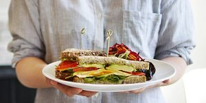 Heirloom Veg Egg Sandwich
