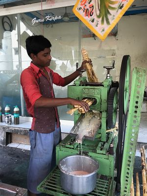 Delhi India Sugar Cane Juice