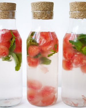 watermelon mint water