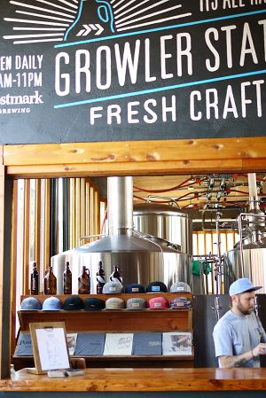 Postmark Brewing Growler Bar