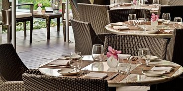 Market by Jean Georges Vancouver patio