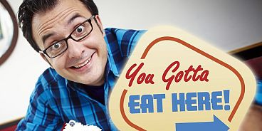 You Got Eat Here Food Network Banner