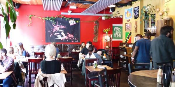 Calabash Bistro Dining Room